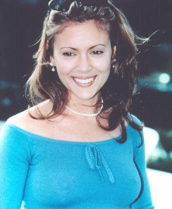 Alyssa milano embrace of the vampire slomo compilation - 5 9