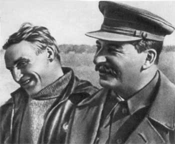 Chkalov and Stalin