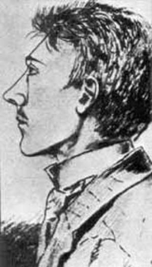 Adolf in 1905 - a sketch made by one of his friends
