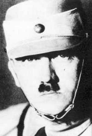 Hitler in the form of SA in 1929