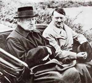 President Hindenburg and Hitler Germany