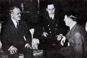 Molotov's meeting with Hitler in November 1940