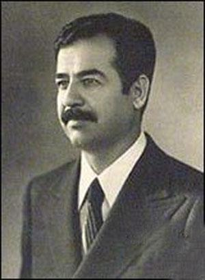 On Saddam, as a prospective leader, staked and the Soviet Union and the U.S.