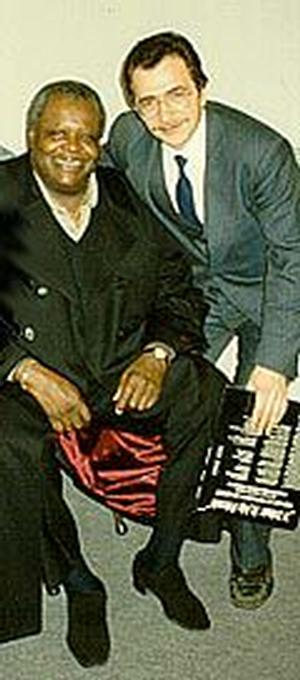 Fain Gregory and Oscar Peterson
