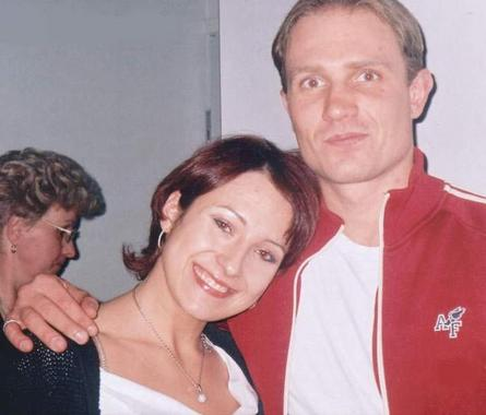 Roman Kostomarov and Julia Lautova
