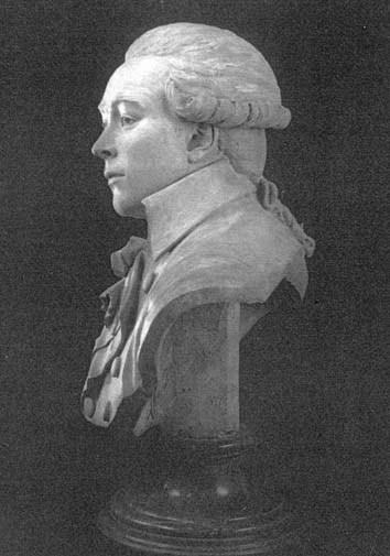 Sculptural portrait of Robespierre Deseyna