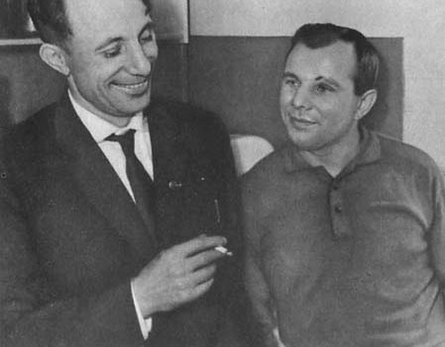 Valentine and Yuri Gagarin