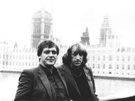 Sergei Belyakovich and Victor Avilov, 1986 (photo from the personal archive of Anna Kiseleva)