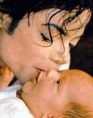 Michael and his son
