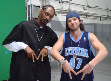 DJ Dlee and Snoop Dogg