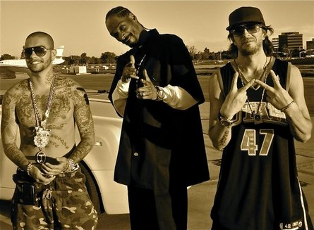 Timati, Snoop Dogg and DJ Dlee