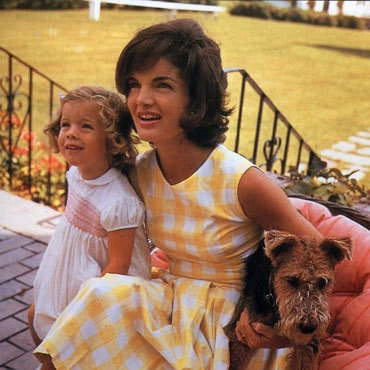 With her daughter, Carolyn