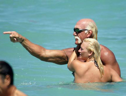 Hulk Hogan with a new girlfriend Jennifer MakDeniels