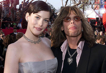 Liv and Steven Tyler