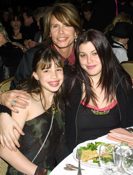 Chelsea, Steven and Mia Tyler