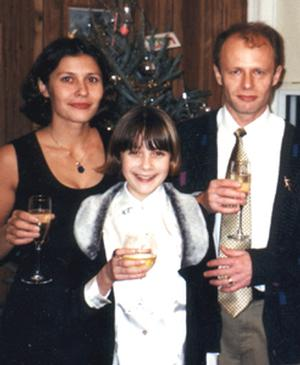 Yu Inozemtseva with family