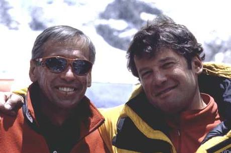 Pustelnik and Beno Kashakashvili after Lhotse