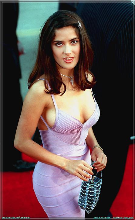 Salma hayek oscars 2005 8