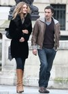 Rosie Huntington-Whiteley and French actor Olivier Martinez
