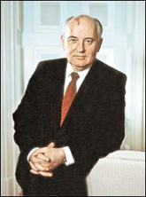 photo Mikhail Sergeyevich Gorbachev